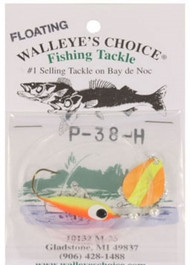 Walleye's Choice Walleye Spinner Rig - #2 Colorado Blades w/ Floating Body