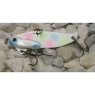 RJ Lures 1/4oz Trigger Blade Bait - Northern Pearl