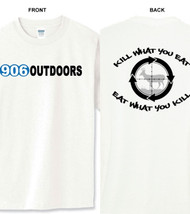 906 Outdoors T-Shirt White - Kill What You Eat