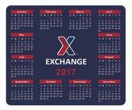 X Exchange 2017 Calendar Mouse Pad