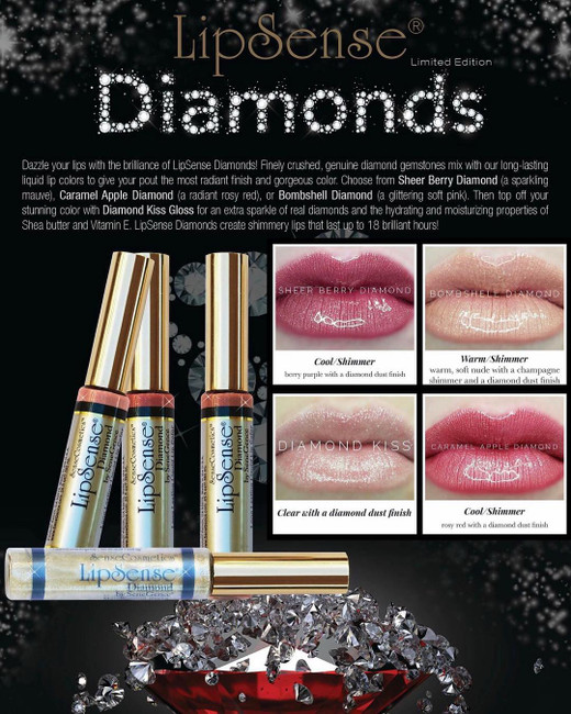 LipSense Diamond Collection 2017