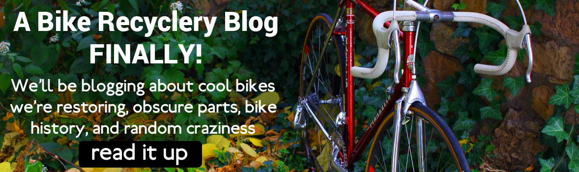 Adventures in Bike Picking: A Blog