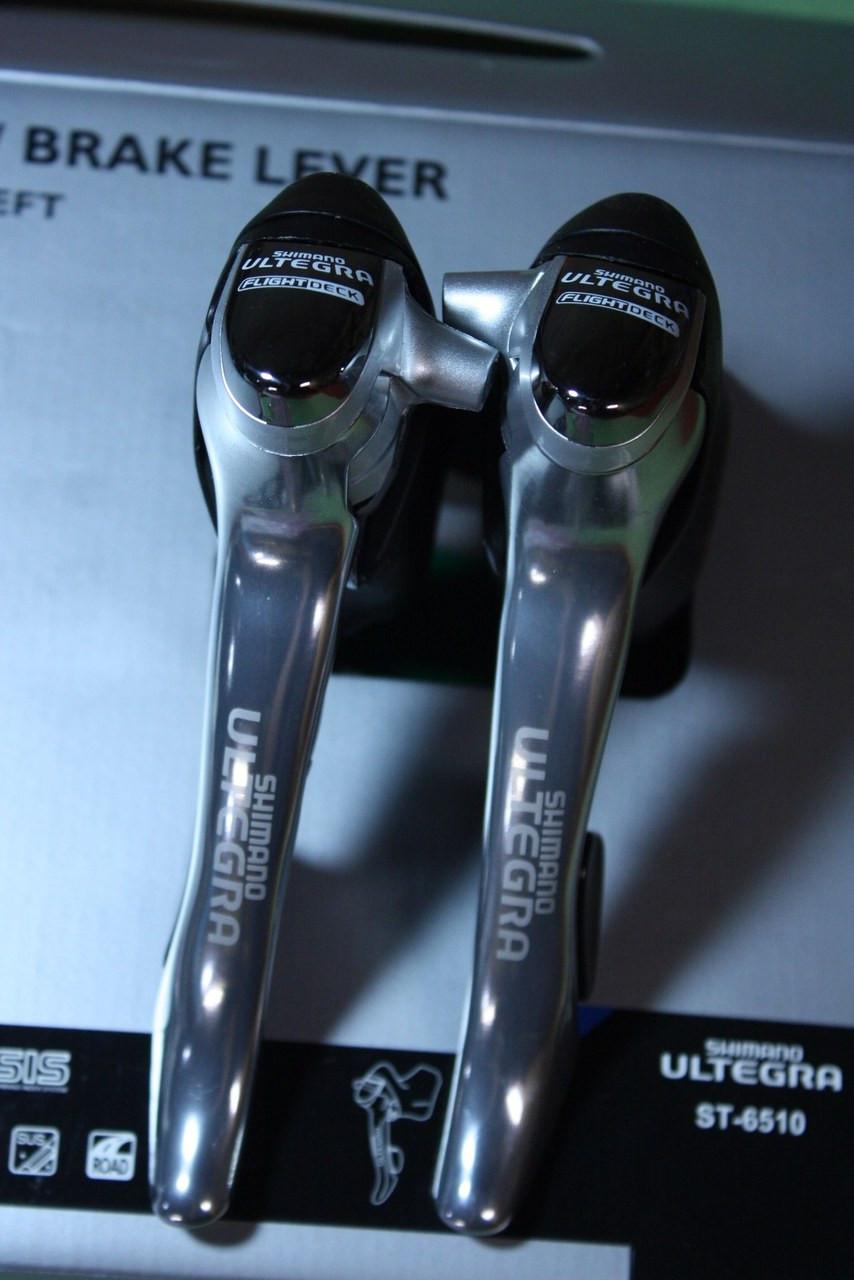 Nib Shimano Ultegra St 6510 Sti Shifters 9 Speed Triple
