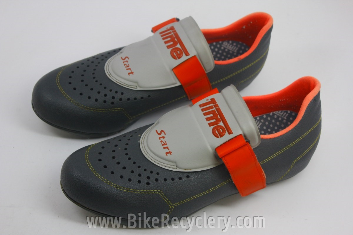 Vintage Time Twt Start Cycling Shoes Leather Size 44 11us