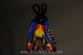 Vintage 1990's KHS Cycling Bib Shorts: Small MINT
