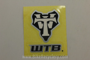 "WTB Decal / Sticker: Clear Background & White, ~3x2"" FREE SHIPPING"