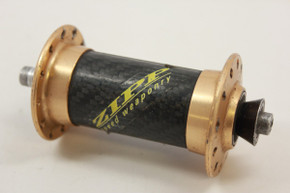 Zipp Ballistic Front Hub Carbon / Gold 24H