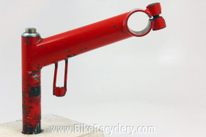 1980's Ritchey Force Nitto Quill Stem: Cable Hanger / Stop, 130mm X 25.4mm