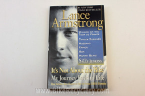 Lance Armstrong: It's Not About the Bike - Paperback Cycling Book NEW