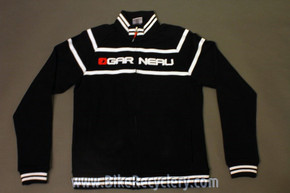 Louis Garneau 30th Anniversary Pro Apres-Bike Sweater: Black, 100% Cotton, Medium, NEW
