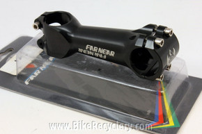 Far & Near S1 Threadless Stem: 110mm x 31.8mm Zero Rise Black NEW