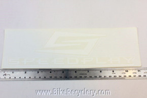 "Speedplay Window Decal: Large ~10 1/4"" x 3"""
