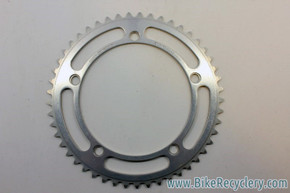 Sugino Mighty Competition Chainring: 49T,144 BCD Mint, Take-off/