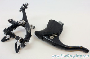 Campagnolo Chorus RS Century/Graphite Monoplanar Front Brake & Power Grade Brake Lever: MINT
