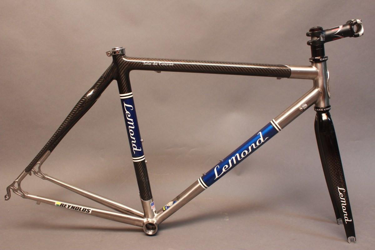 2004 Lemond Tete de Course Frame / Fork: Reynolds Titanium & Carbon ...
