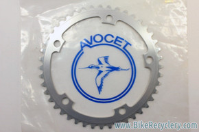 NIB/NOS Vintage Avocet Strada Chainring: 44T, 144mm BCD FITS CAMPAGNOLO NUOVO/SUPER RECORD