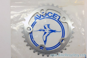 NIB/NOS Vintage Avocet Strada Chainring: 34T, 102mm BCD Inner Ring For Avocet/Ofmega Touring Triple