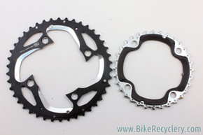 Shimano XT M780 Chainrings: 42t & 32t, 104mm, 10 Speed AE-Type