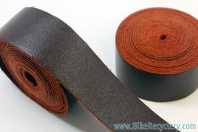 Selle Anatomica Watershed Leather Bar Tape: Dark Brown