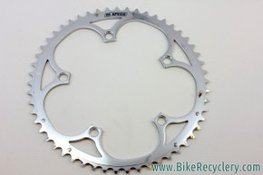 NOS Campagnolo 10 Speed Chainring: 53T, 135mm, Silver/Polished