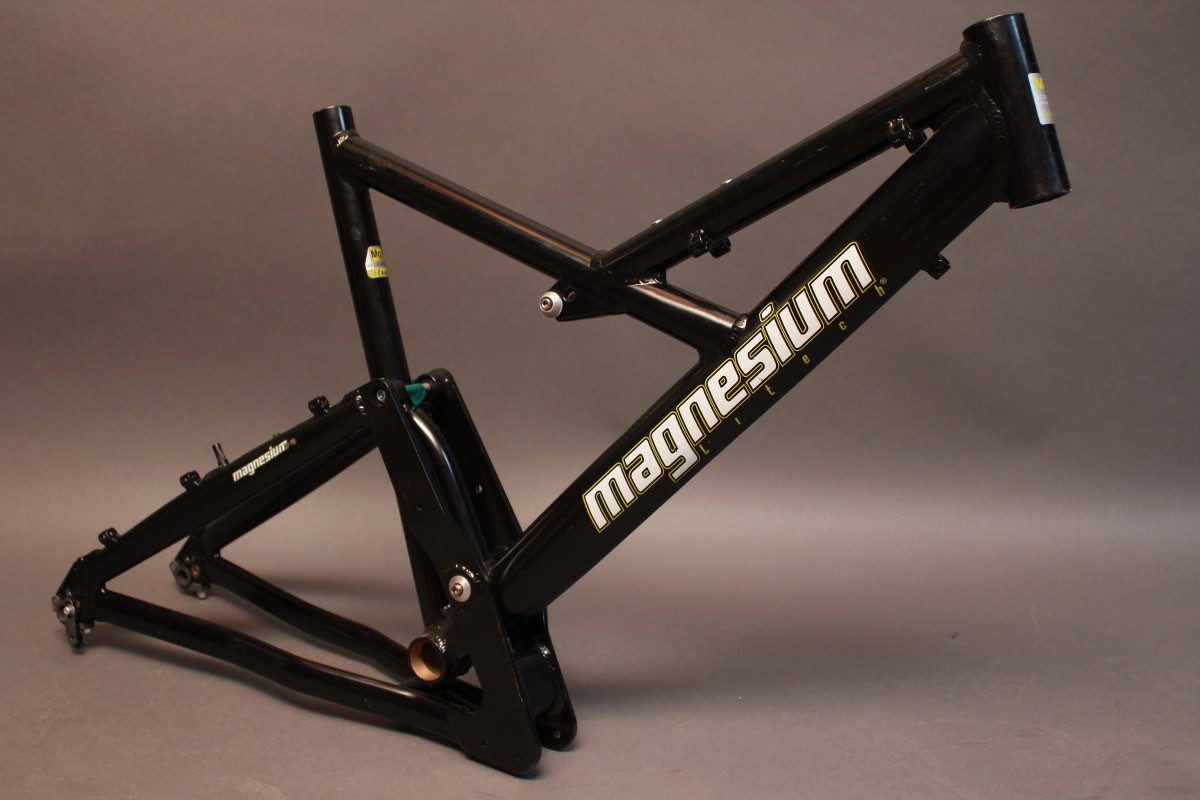 Litech Magnesium Full Suspension Mountain Bike Frame- German - Bike ...