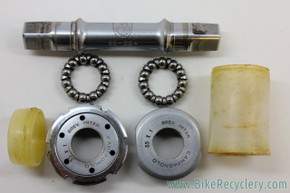 FRENCH Campagnolo Nuovo Record Bottom Bracket: 111mm X 68mm - 35x1 - Pre-1978