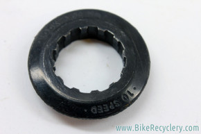 Campagnolo Cassette Lockring: 10/11sp - 27mm Threads - 12t / 13t / 14t First Cog - Black