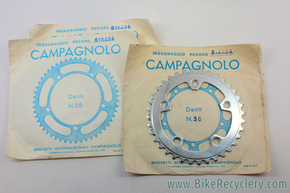 NIB/NOS Vintage Campagnolo Nuovo Record Triple Inner Chainring: 36t - BCD 100mm