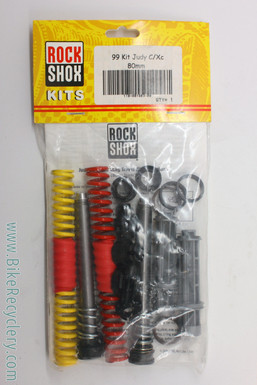 NOS/NIB Rockshox Judy Long Travel Rebuild Kit: 80mm - Hydracoil - 1998-2002 RARE (almost gone!)