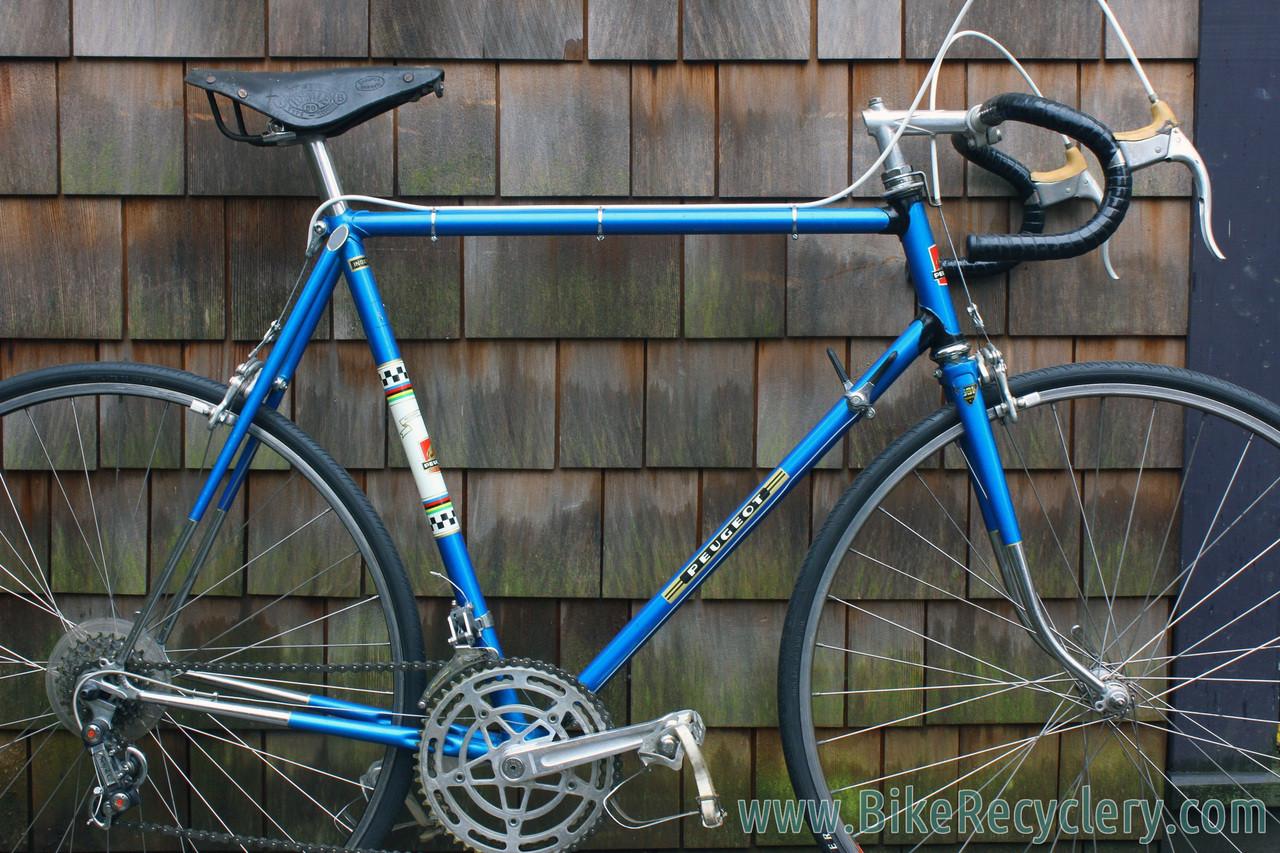 58cm 1972 Peugeot PX-10 Vintage Road Bike: All Original! Blue ...
