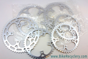 Sugino Mighty / Maxy / AT Cutout Chainrings: 110mm - 56t / 54t / 45t