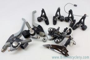 Campagnolo Euclid Graphite MTB Mini Gruppo: Derailleurs - Cantilever Brakes/Levers - Thumb Shifters