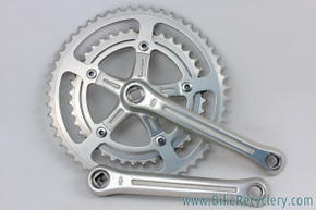 Sakae SR Royal 5 Crankset: 170mm - 118mm BCD - 52/40T - 1980's - Fluted