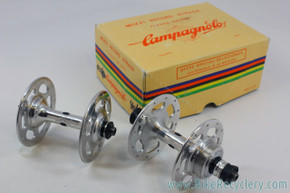 NIB/NOS Campagnolo Nuovo Record Strada High Flange Hubset: 24H - 120mm