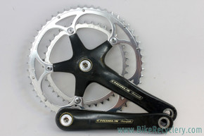 Campagnolo Chorus CARBON Square Taper 10 Speed Crankset: 172.5mm - 53/39T - (Great+)