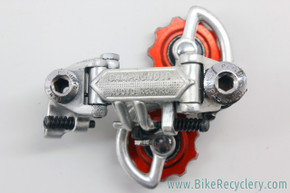 Campagnolo Nuovo Record Rear Derailleur: Patent 1974 - Red Bullseye Pulleys