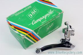 NOS/NIB Vintage Campagnolo 980 Front Derailleur: 28.6 Clamp