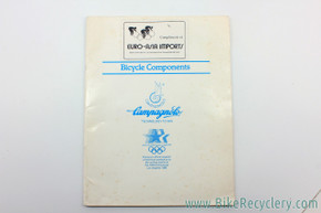 1982 Campagnolo Olympic Catalog (Near Mint w/ Cover Patina)