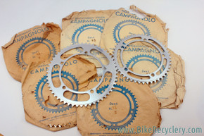 NIB/NOS Campagnolo Nuovo Record Strada Chainrings: 144mm BCD - Various Sizes - MORE STOCK!