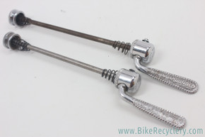 Campagnolo Nuovo Tipo QR Skewer Set: Curved Blade - 1967 to 1978 (Pair)