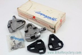 Campagnolo C-Record Delta Clipless Pedals: SRG-1 - Cleats (new) / Hardware