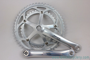 Campagnolo Xenon Crankset: 9/10 Speed - 170mm - 52/39t - Silver (Take Off?)