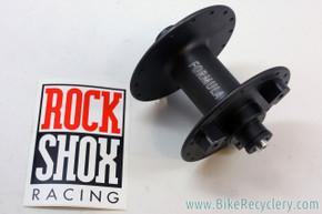 NOS/NIB Formula DC-91 / Rockshox Front Hub: High Flange - Black - For Rim Brake & 3-Hole Rockshox Disc Brake