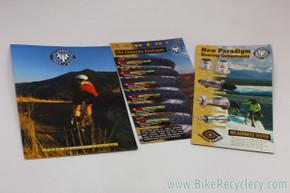 1997 WTB Component & Bicycle Catalog w/ 2 Flyers: WTB Phoenix - Paradigm - Saddles/Tires (mint)