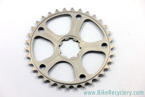 NOS XTR M951 Aftermarket Ti (?) Chainring & Spider: 34t - SS or 2x