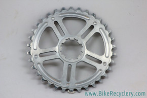 Home Brewed Components (HBC) Spiderless Chainring for FC-M952: 34t - Silver