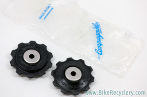 NIB/NOS Campagnolo Record Jockey Wheels / Pulleys: 1994 to 2000 8/9 Speed - Black