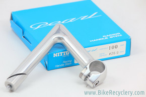 Nitto Pearl Quill Stem: 100mm x 26mm (NEW)