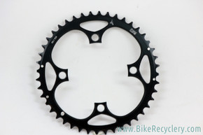 Tune Chainring: 44t x 104mm 4 Bolt:  10/11 Speed - Black (NEW)