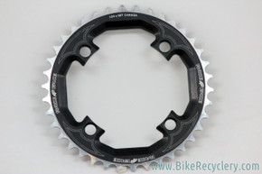 NOS Race Face Chainring: 38t x 104mm - Vintage 8/9 Speed - Black & Silver (NEW)